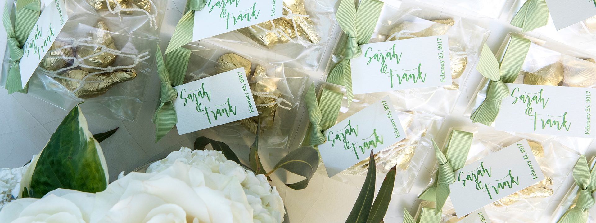Wedding Favors Header Flipped